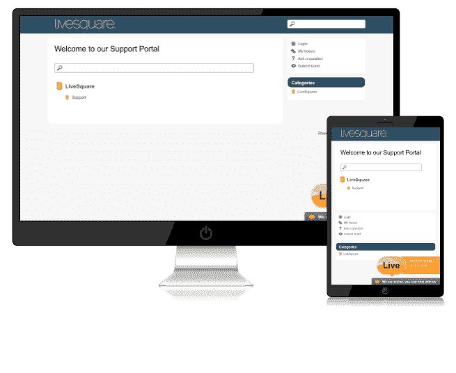 LiveSquare Live Chat Support Visitors Portal